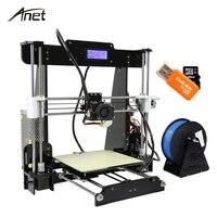 Anet Desktop A8 Auto Leveling 3D Printer DIY Kit Aluminum Motor 0 4mm Nozzle SD Card