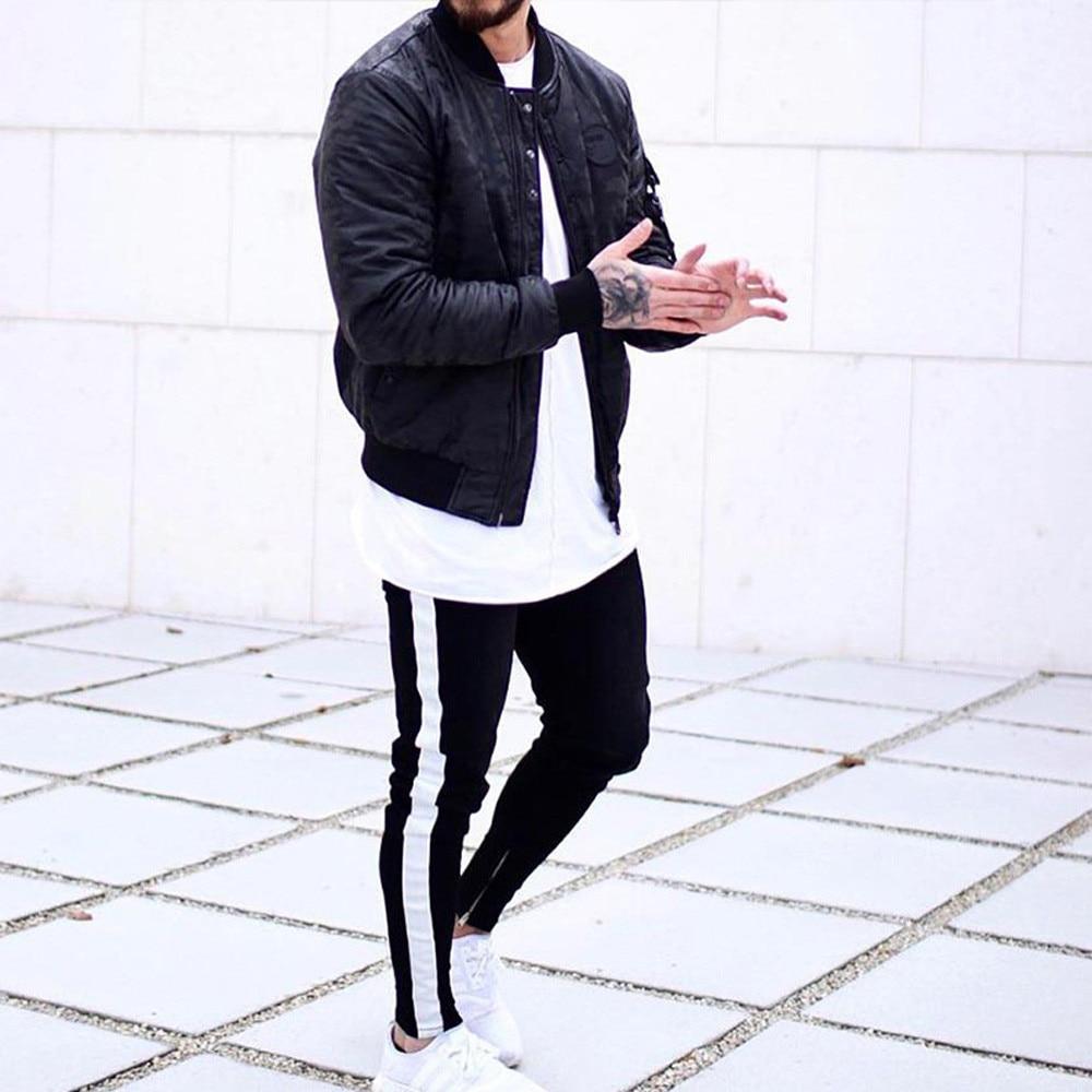 FREE OSTRICH Fashion Trend Korean Version Of The Wind Pencil Pants Slim Men's Model Skinny   Jeans   Men Good Elasticity Denim 2019