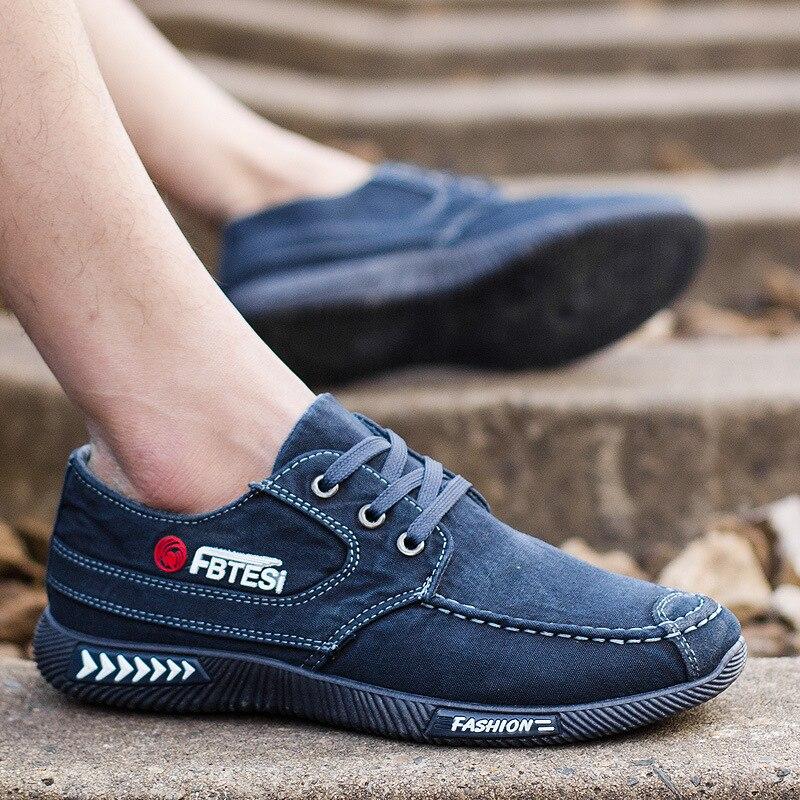 De Transpirables Hombres Planos Zapatos Estilo Cordones Los azul Wholesalethu78 2019 Negro Solo Moda Lona Otoño Casuales Verano gris RwnAxqS