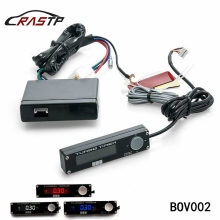 RASTP - Universal Racing Car Turbo Timer LED White Red Blue Digital Led Type 0 Display for EVO Sti Wrx RX8 G35 RS-BOV002