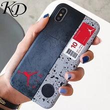 d59e23a91fb1 Phone Cases for iphone 6 6S 6Plus 7 7Plus 8 8Plus X 10 Trend Street Brand  Dunk Air Jordan Retro Cover Case for iphone XS XR MAX
