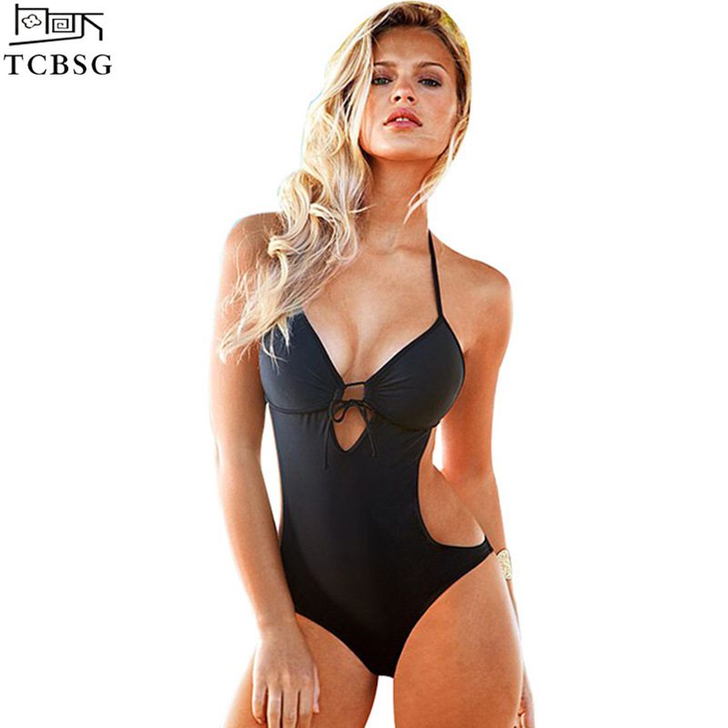 One Piece Swimsuit Sexy Swimwear Women 2017 Summer Beach Wear Bathing Suit Swim Bandage Backless Halter Top Monokini Swimsuit one piece swimsuit sexy swimwear women 2017 summer beach wear bathing suit bandage backless halter top monokini bodysuit