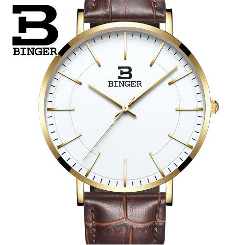Switzerland Binger Man Watch Top Brand Luxury Casual Nylon Strap Watches Men Chronograph Quartz Wristwatch relogio masculino switzerland chronograph watch binger casual wristwatch military men sport auto digital watches luxury brand relogio masculino