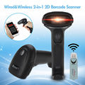 Free shipping!Eyoyo BP-4600RD Wireless USB 2D Barcode Scanner (2.4G Wireless + USB Wired) Screen Scanner