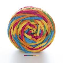 160 г/104 м супер дешевая толстая пряжа для вязания тапочек пряжа для вязания полиэстер мериносовая шерсть