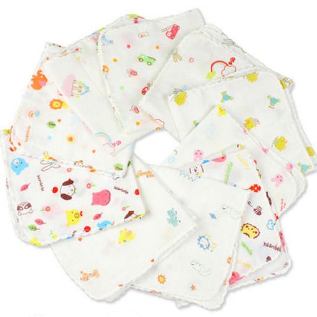 Cartoon Patterned Baby Bath Towels Set