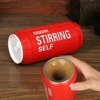 New High Quality Coffee Stainless Steel Tumbler Self Stirring Mug Minions Cartoon Mug 240ml Cups And