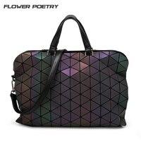 Luxury Brand Bao Bao Bag Women Handbags Luminous Geometric Folding Elegant Shoulder Bags Big Tote Top