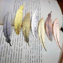 Bookmark Book-Clip Metal Office-Supplies Silver Creative Vintage School Gold Nice