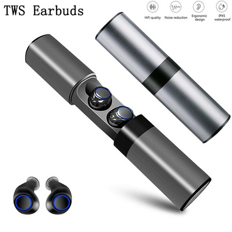 <font><b>TWS</b></font> <font><b>S2</b></font> Mini Waterproof <font><b>Earbuds</b></font> Bluetooth <font><b>Wireless</b></font> Fashionable Portable Hifi Sound Quality With Charging Box Earphone image