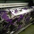 1.52*30m/roll purplr-black Urban Digital Camo Vinyl Camouflage Vinyl Truck Graphics Full Body Car styling Sticker