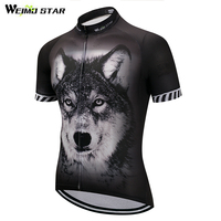 3D Wolf Bike Team Pro Cycling Jersey Ropa Ciclismo 2018 Mtb Bicycle Cycling Clothing Summer Bike