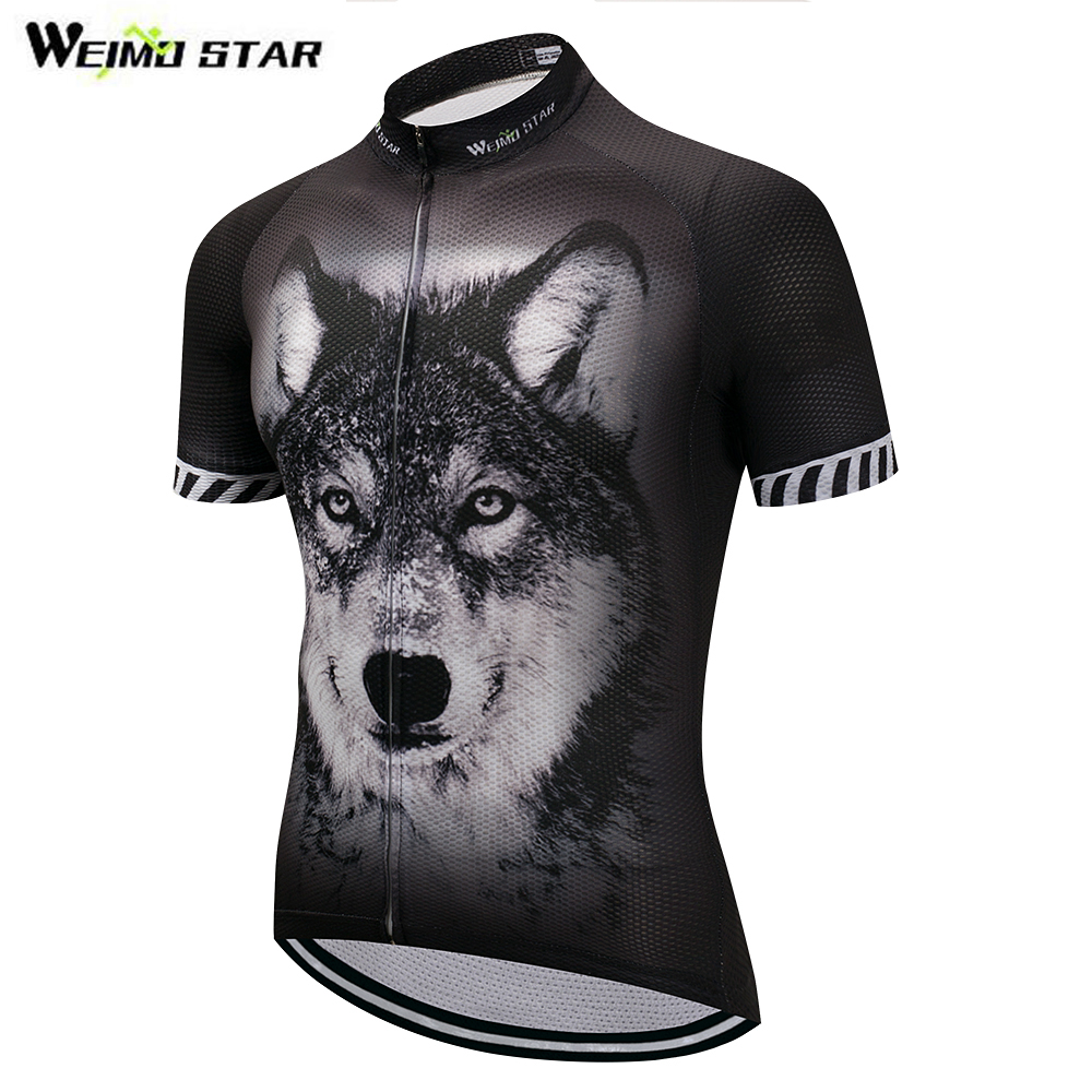 3D Wolf Bike Team Pro Cycling Jersey Ropa Ciclismo 2018 mtb Bicycle Cycling Clothing Summer Bike Jersey Shirt Maillot Ciclismo 2017 bike team cycling jersey sets ropa ciclismo mtb bicycle cycling clothing maillot ciclismo cycling wear bike jersey clothes