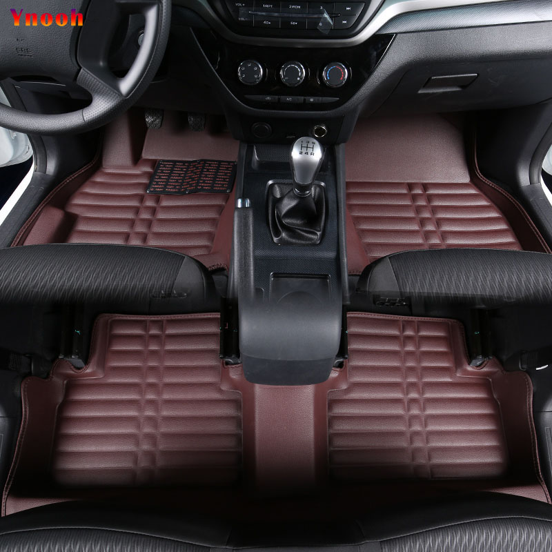 Ynooh car floor mats For audi a5 a3 sportback a6 c7 c6 a4 b8 q7 2007 tt mk2 a8 d2 a4 b7 avant Q3 Q5 car Accessories