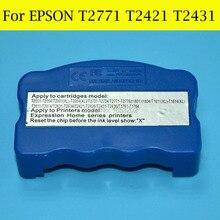 1 PC Resetter T2771-T2776 T2771XL T242 T2421-T2426 T243 T2431-T2436 For Epson XP-850 XP-950 XP-750 XP-760 XP-860 Printer стоимость