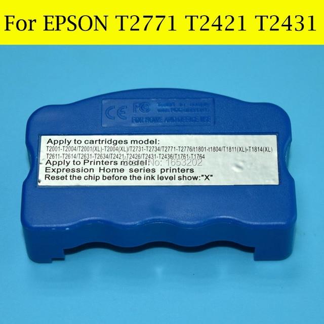 US $17 98 10% OFF|1 PC Resetter T2771 T2776 T2771XL T242 T2421 T2426 T243  T2431 T2436 For Epson XP 850 XP 950 XP 750 XP 760 XP 860 Printer-in Printer