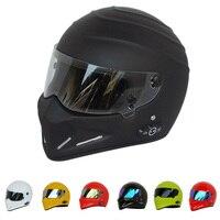 Motorcycle Star Wars helmet Full Face ATV Motorcross Monster Bluetooth Headset Crash vespa casque Scooter Retro Without Intercom