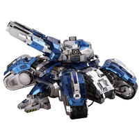 Colorful Siege Edition Engine Tank Fun 3d Metal Diy Miniature Model Kits Puzzle Toys Children Boy Splicing Hobby Building