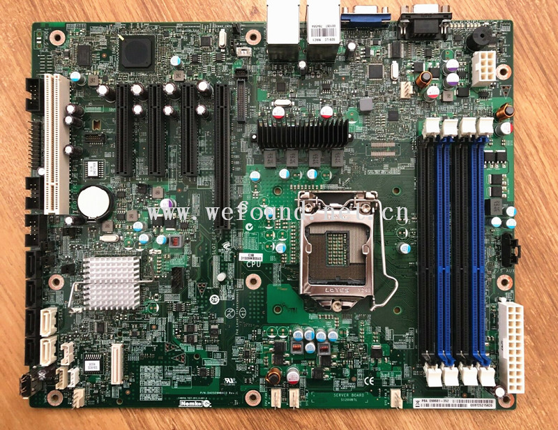 100% Working Server Motherboard For S1200BTL ECC C216 1155 Fully Tested