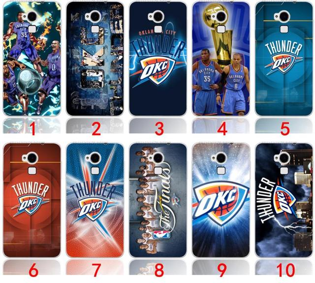 Phone Case For Basketball OKC Thunder Logo Design 3D Painted Cover Coolpad Y90K1Q7F1T1K1Y70Y60S6 Free