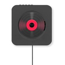 Vwinget CD проигрыватель для записи настенный домашний аудио ящик с пультом дистанционного управления fm-радио встроенный HiFi привод AUX EU штекер