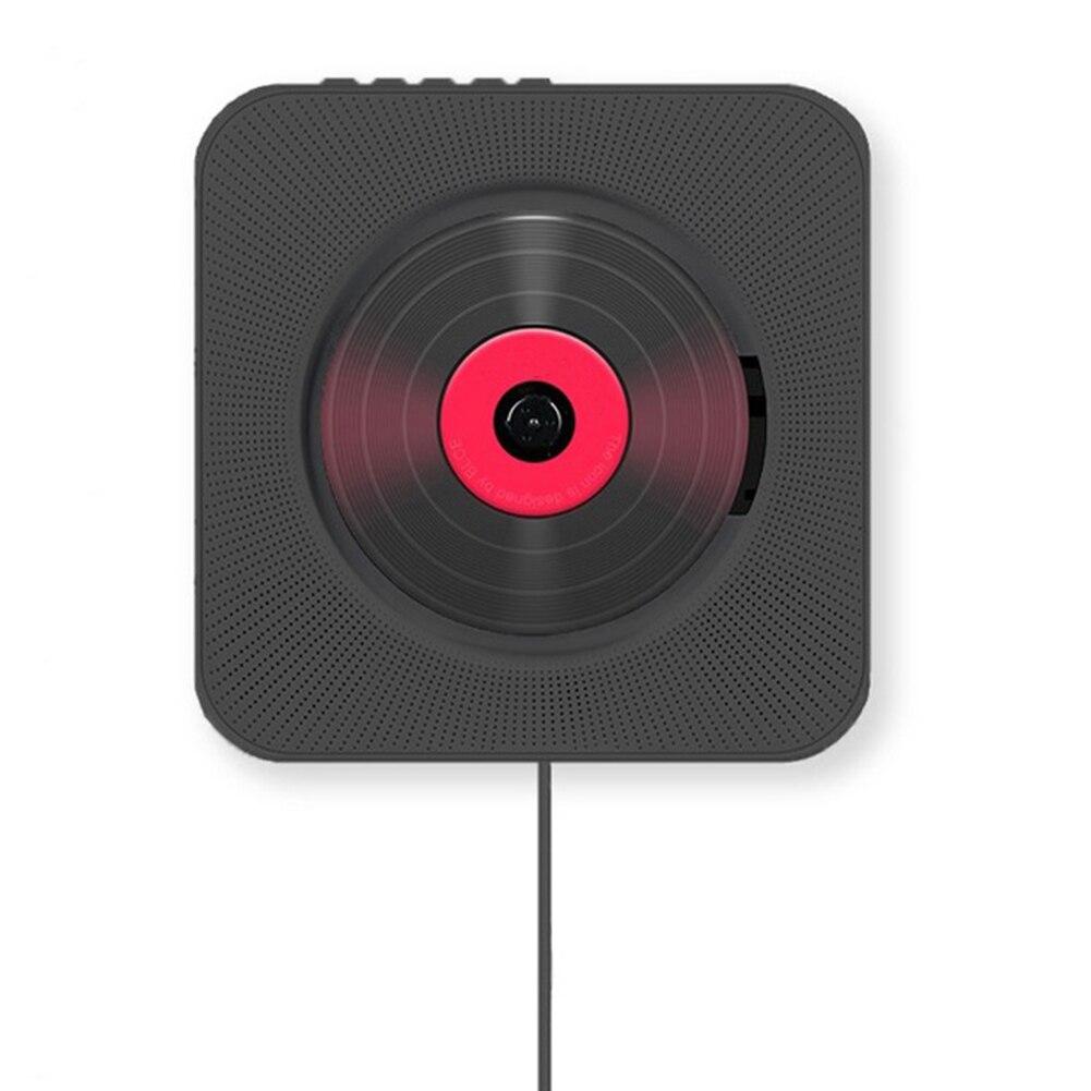 Vwinget lecteur CD lecteur de disque mural montable boîtier Audio maison avec télécommande Radio FM intégré lecteur HiFi prise AUX EU