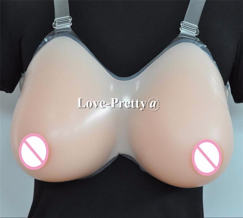 3200g Top Quality Realistic touch Feeling H Cup Size Silicone False Fake Breast Boob Forms Enhancer Crossdress Transvestite 4600g realistic silicone false breast fake boob shemale huge breast forms enhancer crossdress transvestite user dark beige