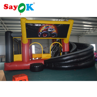 Free Shipping Inflatable Bouncer Truck Giant Kids toy Inflatable Slide for Children Playing Games