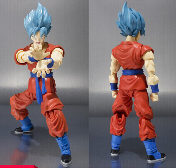 NEW hot 18cm dragonball dragon ball Super Saiyan mobile God Son Goku Kakarotto action figure toys Christmas toy new hot 21cm dragon ball super saiyan 3 son goku kakarotto action figure toys doll collection christmas gift with box sy889