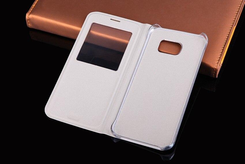 QTNED Luxury View Phone Case för Samsung S7 Edge Flip Cover Holster - Reservdelar och tillbehör för mobiltelefoner - Foto 2