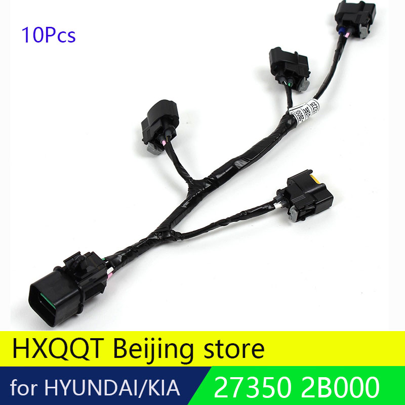 10p Ignition Coil Wire Harness Fits 1014 Veloster Rio Soul 16l 27350: Hyundai Ignition Coil Wiring Harness At Goccuoi.net
