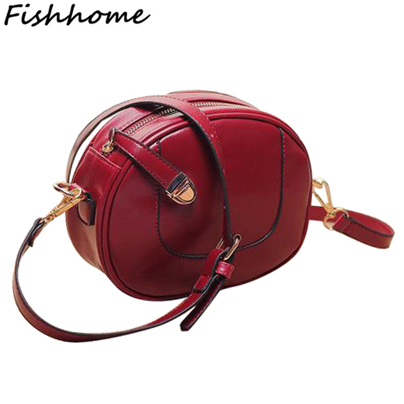 2017 New Europe Style Fashion Vintage women leather handbag small mini bag women