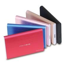 Acasis 2,5 «портативный внешний жесткий диск 2 ТБ жесткий диск USB3.0 диско Дуро externo 1 ТБ для компьютера ноутбука HDD 500 Гб