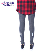 Warm Plus Velvet Women Leggings Female Casual Thick Slim Legging Elastic Skinny Pants Offset Printing Breathable Cotton Trousers