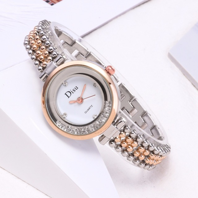 Brand Women Bracelet Watch Alloy Quartz WristWatches Women Dress Watches Fashion