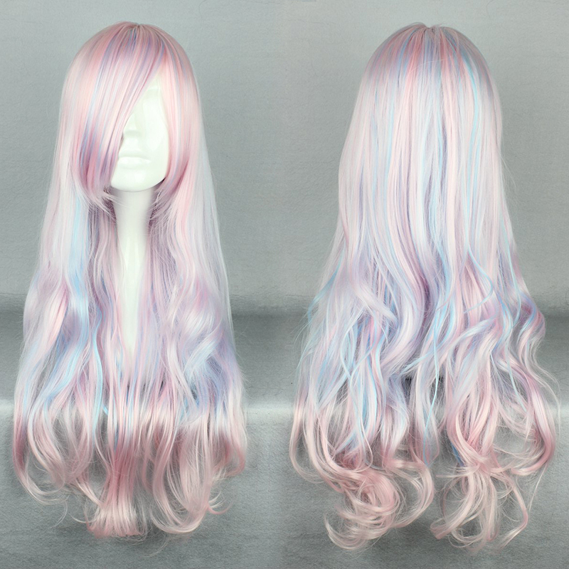 MCOSER New Sweet Lolita Wig Harajuku Cosplay Fashion Wigs for women Ombre long Curly Synthetic Wigs Costume party Wigs motherboard for acer aspire 7339 7739 emachines e729 e729z mbrn60p001 08n1 0nx3g00 aic70 main board 100% tested good