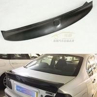CSL Style Duckbill Black Rear Carbon Fiber Trunk Lid Rear Spoiler Wing for BMW 2001 2006 E46 2DR Car