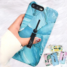 For iPhone 7 6s 8 Plus/ XS MAX/XR Fashion Marble silicon Ring Phone Cases For iPhone XS MAX Hide Stand Holder Phone Cases