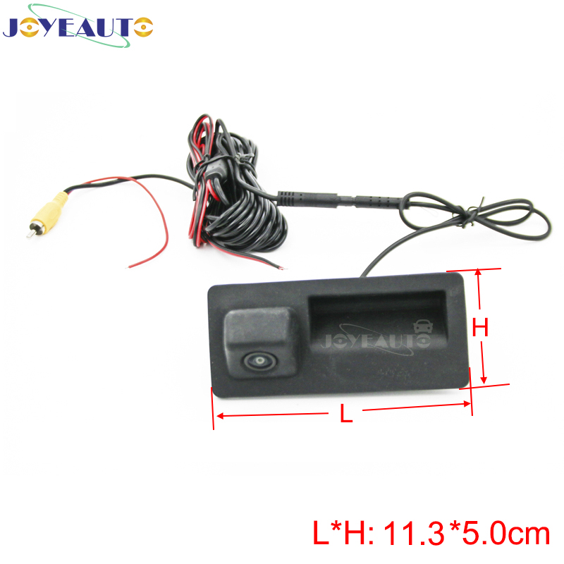 JoyeAuto Reverse Rear <font><b>Camera</b></font> For <font><b>Audi</b></font> A1 A3 A4 A5 A6 A7 A8 <font><b>Q3</b></font> Q5 Q7 CCD Night Parking Vision <font><b>Camera</b></font> Support Dynamic Guidelines image