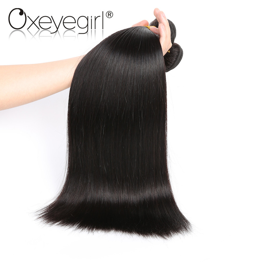 Hot Sale Oxeye Girl Brazilian Hair Weave Bundles Natural Color