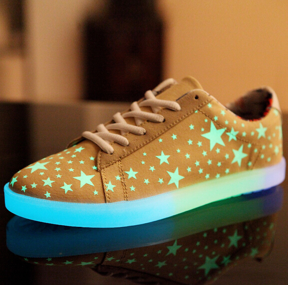 Fluorescent Shoes 2015 Star Men and Women Fashion ...