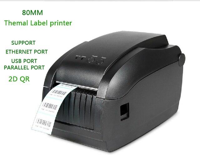 80 мм Gprinter термопринтер штрих код 3150 т может наклейка этикетки lan интерфейс стриперы поддержка 2d-код различных языков