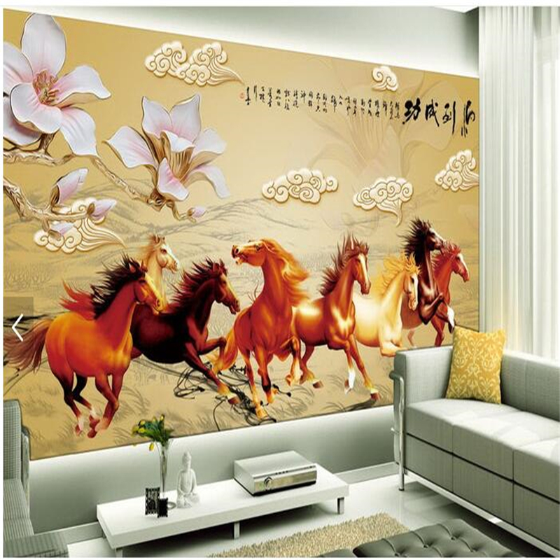 Aliexpress.com : Buy eibehang Room Living Room Custom Wallpaper 3D ...