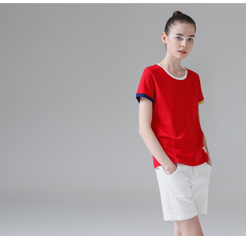 HTB1mEQLPpXXXXcsXVXXq6xXFXXXQ - T Shirt Women Short Sleeve O-Neck Cotton