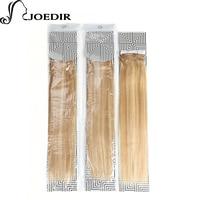 Joedir Pre Colored Balayage Blonde Human Hair Bundles Indian Straight Hair Weave 1 Bundle P27613 Hair Extensions 100g Hair Weft