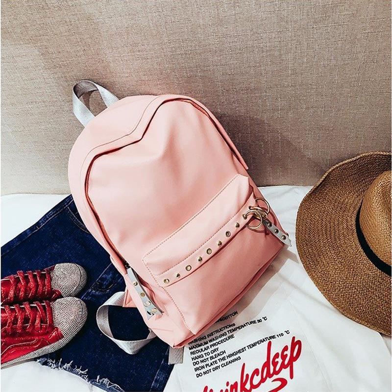 Small leather Female Bagpack Fashion Small Girls backpack School Bag Women Designer Circle Cute Back Pack Mochilas Feminina Gift