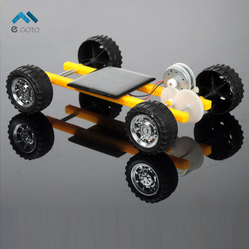 Solar Energy Intelligent Car DIY Kits Solar Automobile s