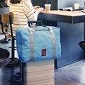2016 novo Estilo de Moda Saco de Viagem Grande Capacidade Das Mulheres Sacos de Lona Dobrável Mulheres Bagagem Bolsas de Viagem Duffel Bag