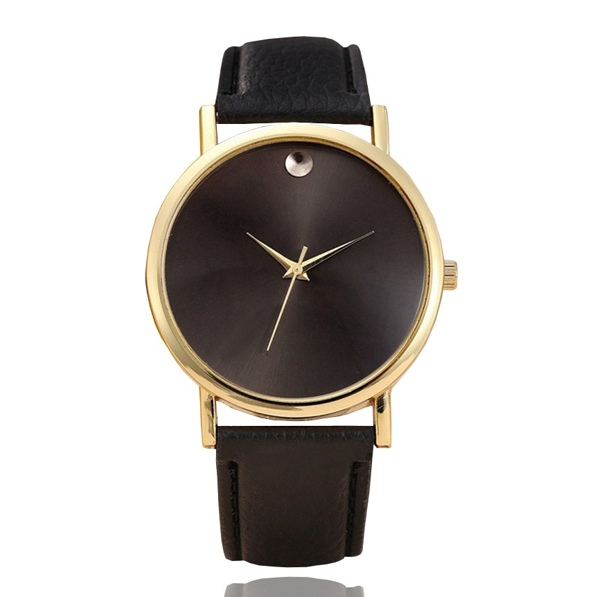 Mujeres de la marca de lujo reloj 2018 reloj de cuarzo de cuero - Relojes para mujeres