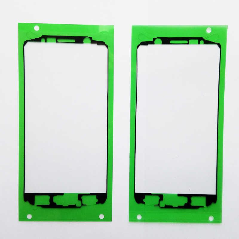 1 قطعة الأصلي جديد LCD الإطار الأمامي الحافة ملصق لسامسونج غالاكسي S6 G920 استبدال لاصق الغراء ملصقات بيع كامل
